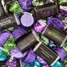 Halloween Candy Hershey's Miniatures, Kisses and Reese's Peanut Butter Cups