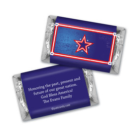Patriotic Stars MINIATURES Candy Personalized Assembled