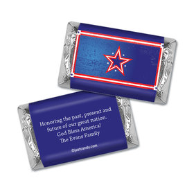 Patriotic Stars Personalized Miniature Wrappers