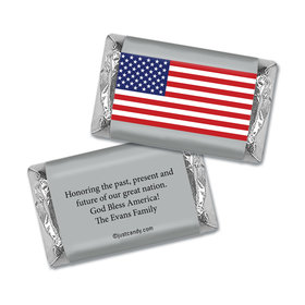 Freedom Flag Personalized Miniature Wrappers