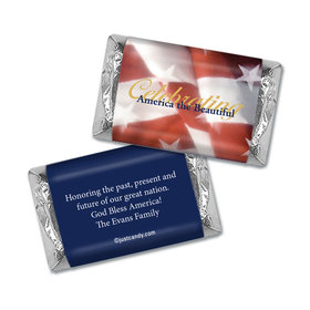 America the Beautiful Personalized Miniature Wrappers
