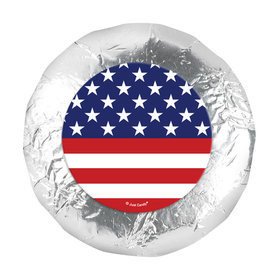 "American Flag 1.25"" Stickers (48 Stickers)"