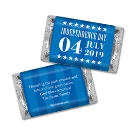 Personalized Patriotic Freedom Hershey's Miniatures Wrappers
