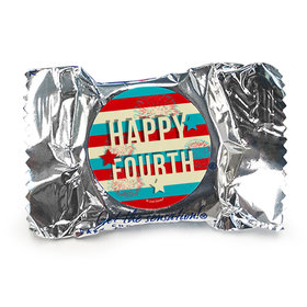 4th of July Star Spangled Stripes Peppermint Patties
