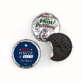 Personalized 4th of July All-American Pearson's Mint Patties