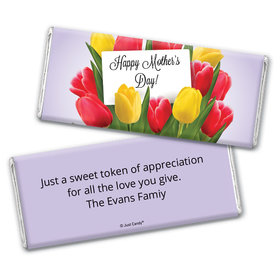 Bouquet Day Personalized Candy Bar - Wrapper Only