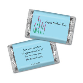 Lovely Lavender Personalized Miniature Wrappers