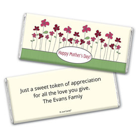 Growing Garden Personalized Candy Bar - Wrapper Only