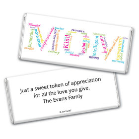 Endless Expressions Personalized Candy Bar - Wrapper Only