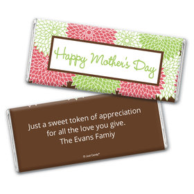 Mums for Mom Personalized Candy Bar - Wrapper Only