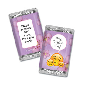 Personalized Mother's Day Emoji Hershey's Miniatures Wrappers