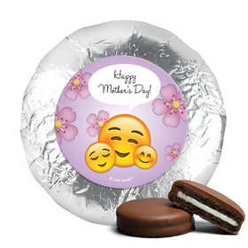Mother's Day Emoji Theme Milk Chocolate Covered Oreos