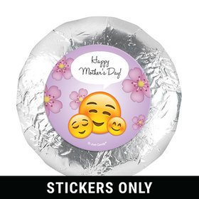 "Mother's Day Emoji Theme 1.25"" Stickers (48 Stickers)"