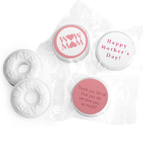 Personalized Hershey's Kisses - Mother's Day Mom Heart (50 Pack)