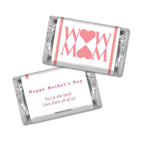 Personalized Mother's Day Heart Hershey's Miniatures