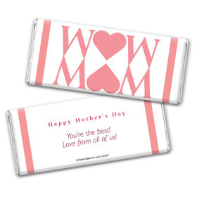 Personalized Mother's Day Heart Chocolate Bar