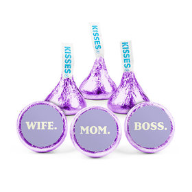 Mother's Day Wife Mom Boss Hershey's Kisses (50 pack)