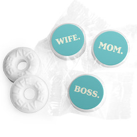 Mother's Day Wife. Mom. Boss. Life Savers Mints