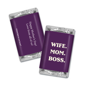 Personalized Mother's Day Wife Mom Boss Hershey's Miniatures