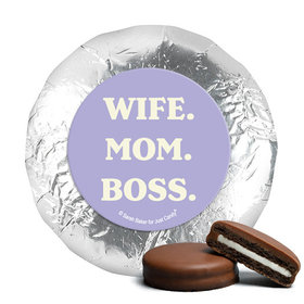 Milk Chocolate Covered Oreos - Mother's Day Wife. Mom. Boss