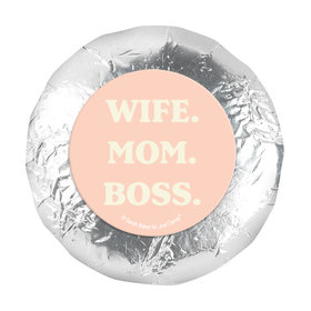 1.25in Stickers - Mother's Day Wife. Mom. Boss (48 Stickers)