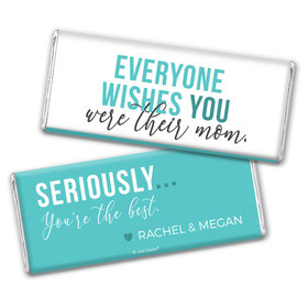Personalized Mother's Day The Cool Mom Chocolate Bar Wrappers