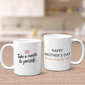 Mother's Day Crown 11oz Mug Empty
