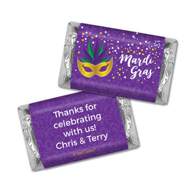 Personalized Hershey's Miniatures - Mardi Gras Big Easy