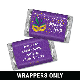 Personalized Mini Wrappers Only - Mardi Gras Big Easy
