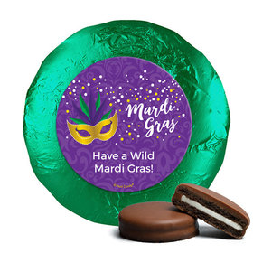 Personalized Milk Chocolate Covered Oreos - Mardi Gras Big Easy