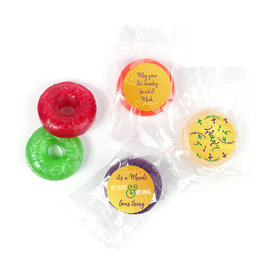 Personalized Life Savers 5 Flavor Hard Candy - Mardi Gras It's a Mardi Gras Thing