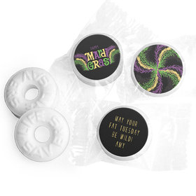 Personalized Life Savers Mints - Mardi Gras Party Gras