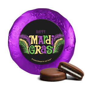 Mardi Gras Party Gras Chocolate Covered Oreos (24 Pack)