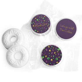 Personalized Life Savers Mints - Mardi Gras Beads & Bling