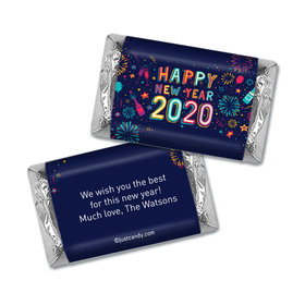 Personalized Hershey's Miniatures - New Year's Eve Festivities