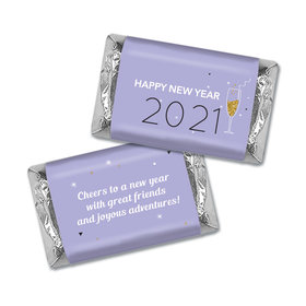 Personalized New Year's Champagne Soiree Mini Wrappers Only