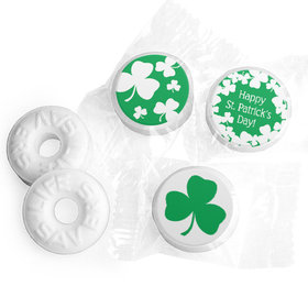 St. Patrick's Day White Clovers Life Savers Mints