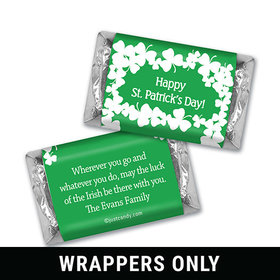 Luck of the Irish Personalized Miniature Wrappers