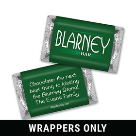 Personalized St. Patrick's Day Blarney Mini Wrappers