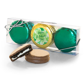 St. Patricks Day Watercolor 3PK Chocolate Covered Oreo Cookies