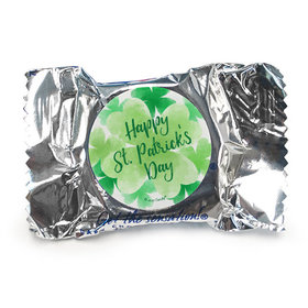 St. Patrick's Day Watercolor Clovers York Peppermint Patties