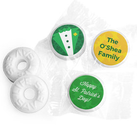 Personalized St. Patrick's Day Tux Life Savers Mints