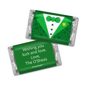 Personalized St. Patrick's Day Tux Hershey's Miniatures