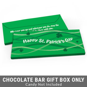 Deluxe Personalized Clover Streams St. Patrick's Day Candy Bar Cover