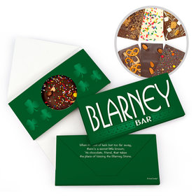 Personalized Day Blarney Bar St. Patrick's Gourmet Infused Chocolate Bars (3.5oz)