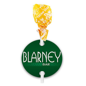 St. Patricks Day Blarney Dum Dums with Gift Tag (75 pops)