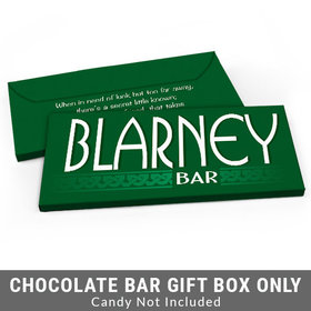 Deluxe Personalized Blarney Bar St. Patrick's Day Candy Bar Cover