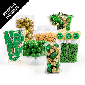 St. Patrick's Day Clover Candy Buffet