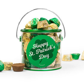 St. Patrick's Day Clovers Reese's Filled Green Paint Can