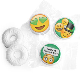 Personalized St. Patrick's Day Emoji Life Savers Mints